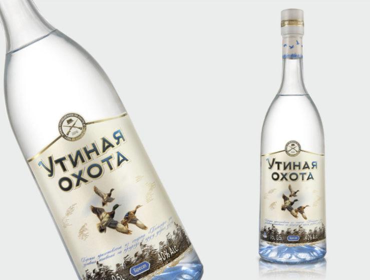 водка Утиная Охота