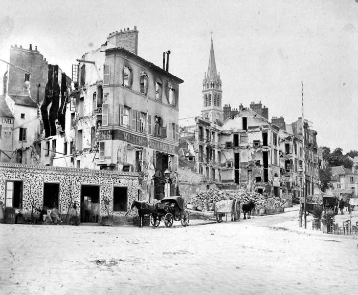 Париж 1871г